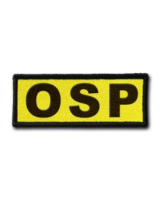 Naszywka OSP FLUO 120x45mm