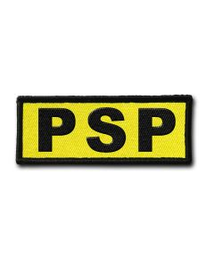Naszywka PSP FLUO 120x45mm
