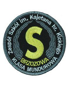 Naszywka paramilitarna grupa rekonstrukcyjna spap gorzow wielkopolski IND