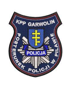 Garwolin - Naszywka KPP Garwolin Posterunek Policji w Pilawie NPO1027 IND