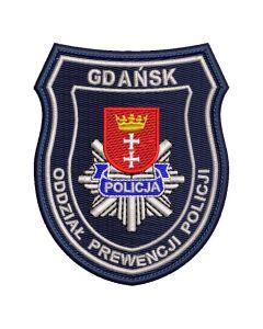 Gdańsk - Naszywka policja Gdańsk Oddział Prewencji Policji NPO1028 IND