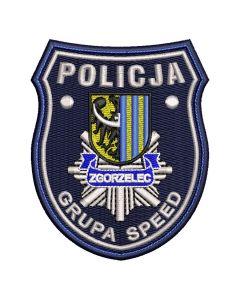 Zgorzelec - Naszywka Policja Grupa Speed Zgorzelec NPO1023 IND