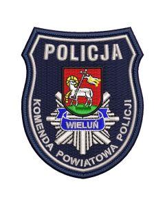 Naszywka policja Komenda Powiatowa Policji w Stargardzie NPO1035 IND