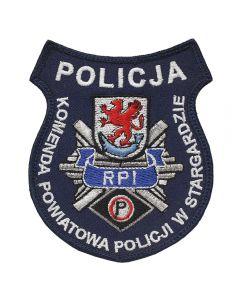 Naszywka Policja KPP Świecie Posterunek Policji w Dragaczu NPO1025