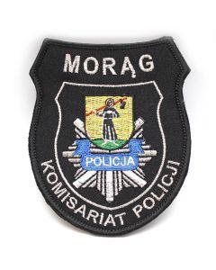 Zielonka - Naszywka policyjna emblemat Komisariat Policji w Zielonce NPO1056 IND