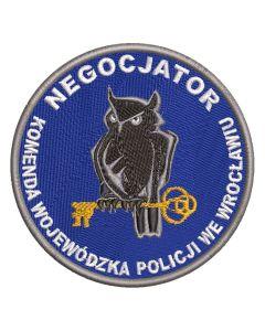 Naszywka policja KWP Gorzów Wlkp Samodzielny Oddział Prewencji Policji NPO1040 IND