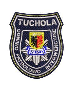 Naszywka policja Oddział Prewencji Policji we Wrocławiu OPP Wrocław NPO1044 IND