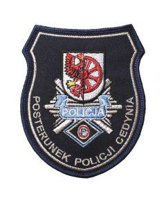 Naszywka policja posterunek policji w Bojanowie NPO1047 IND