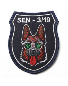 Naszywka policja posterunek policji w Cedyni NPO1048 IND