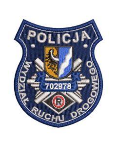 Naszywka policja Samodzielny Pododdział Prewencji Policji w Legnicy NPO1051 IND
