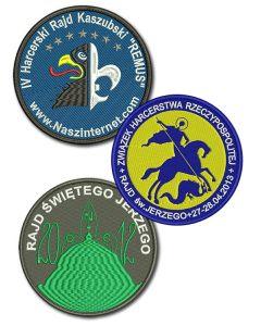 haft komputerowy naszywki harcerskie emblemat logo naszywki