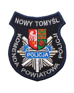 Naszywka Policja komenda Powiatowa Policji w Żarach NPO1017