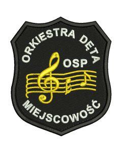 Naszywka naramienna STRAŻ Pożarna Orzeł Polski OSP PSP ind