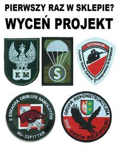 haft komputerowy naszywki wojskowe i paramilitarne emblemat logo naszywki