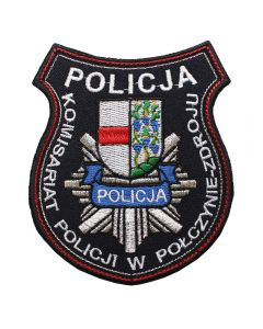 Ratownik - Naszywka Policja Rescuer Ratownik Retter NPO1063 IND