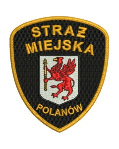 Kościerzyna - Naszywka Straż Miejska SM0005 IND