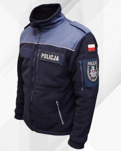 polar kapral dla policji, policyjny, kurtka policja, odblaskowe wstawki, haft