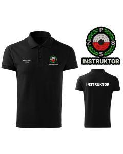 Koszulka polo INSTRUKTOR Polski Związek Strzelectwa Sportowego PZSS