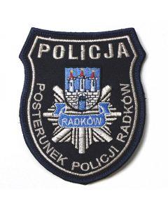 Naszywka Policja Wydział Narkotyków Warszawa Pies przewodnik SEN - 3 19 NPO1054