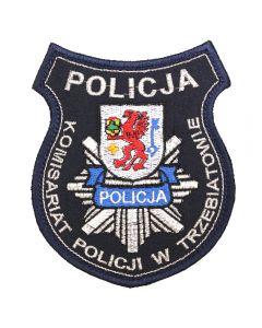 Połczyn-Zdrój - Naszywka Policja Komisariat Policji w Połczynie Zdroju NPO1064 IND