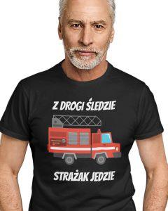 Najlepszy strażak we wsi, koszulka  STRAŻACKA z nadrukiem DTG0005