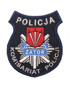 Trzebiatowo - Naszywka policja Komisariat Policji w Trzebiatowie NPO1065 IND