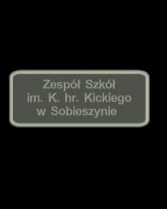 Sobieszyn miejscownik, indywidualna naszywka (S10001-04) IND