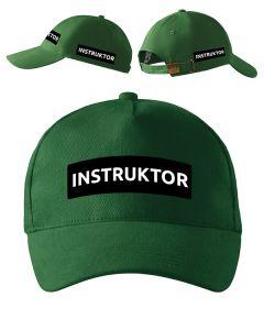 Zielona czapka z daszkiem Sędzia Strzelectwa Sportowego