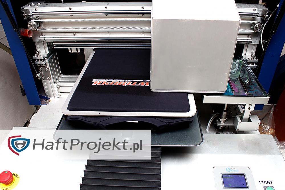 drukowane koszulki firmowe gorzów wielkopolski sitodruk DTG
