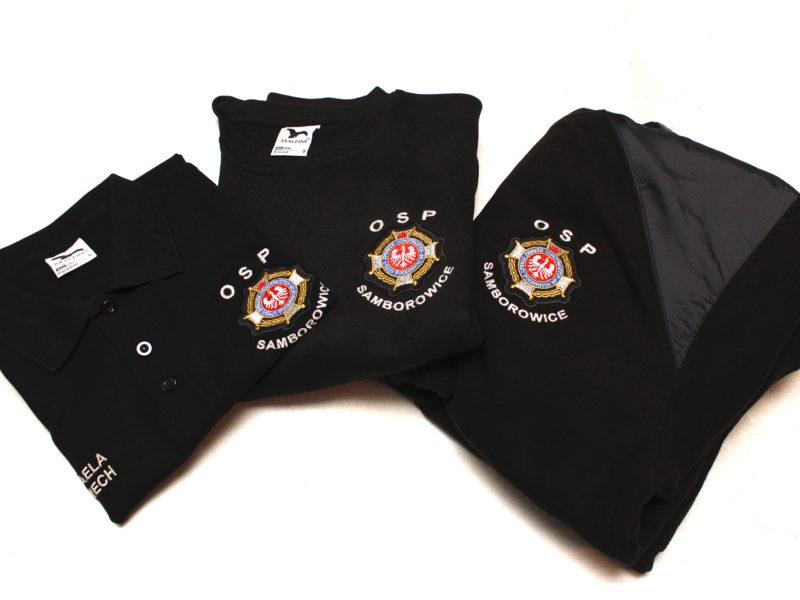 Koszulka polo, bluza straż, polar strażacki