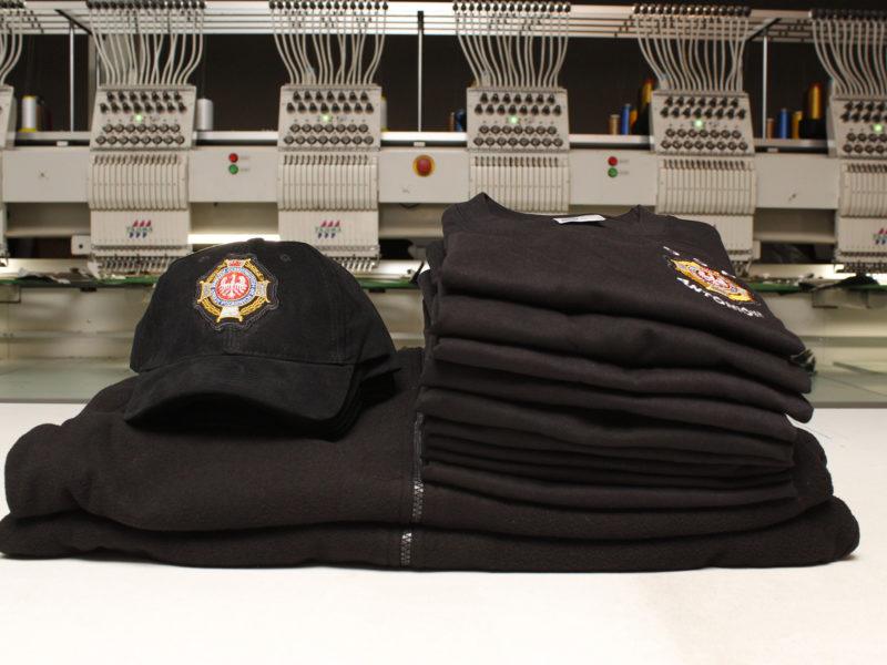 Polary strażackie, koszulki T-SHIRT i czapki straż dla OSP Antoniów