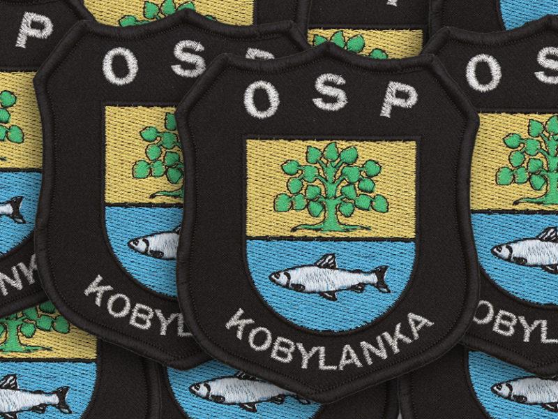 Indywidualne emblematy strażackie dla OSP Kobylanka