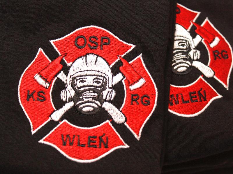 Koszulki straż dla OSP Wleń