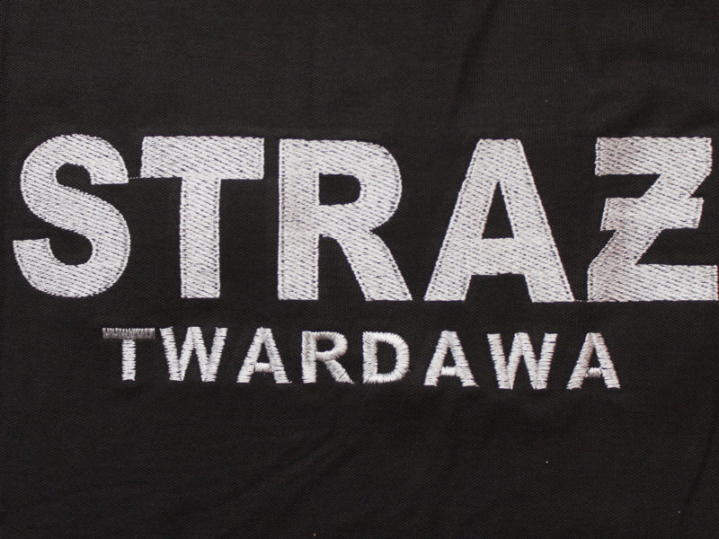 Koszulki strażackie t-shirt i koszulki polo dla OSP Twardawa