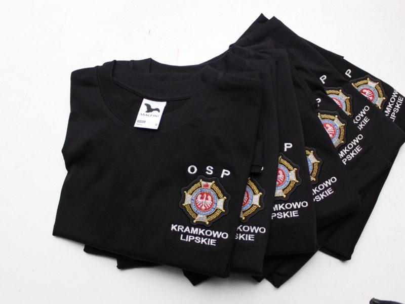 Koszulki strażackie t-shirt i polo dla OSP Steklin i OSP Kramkowo Lipskie