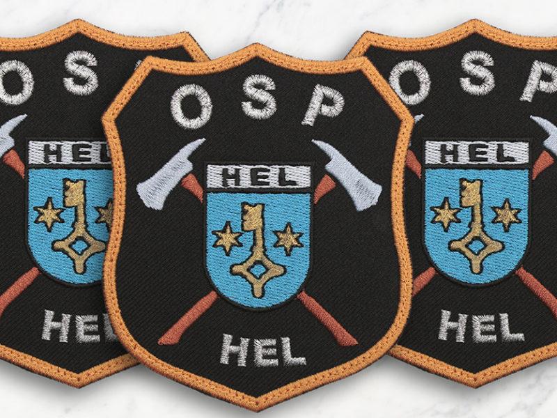 Indywidualna naszywka dla OSP HEL
