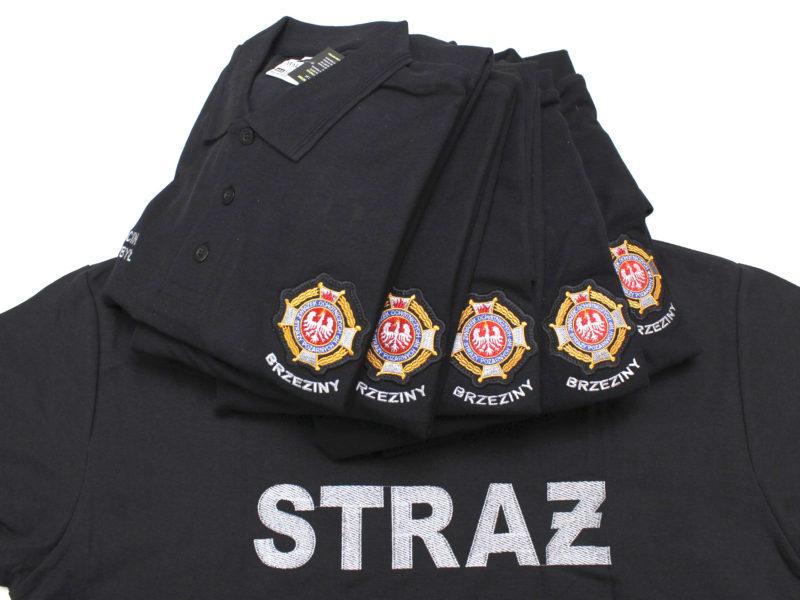 Polówki strażackie dla OSP Brzeziny