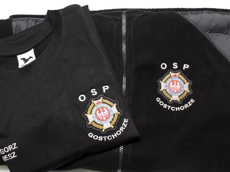 Koszulka i Polar dla OSP Gostchorze