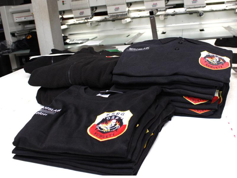 Polary koszulki t-shirt i polo dla OSP Kobułty