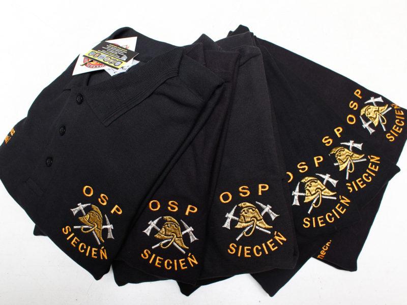 Koszulki POLO dla OSP Siecień