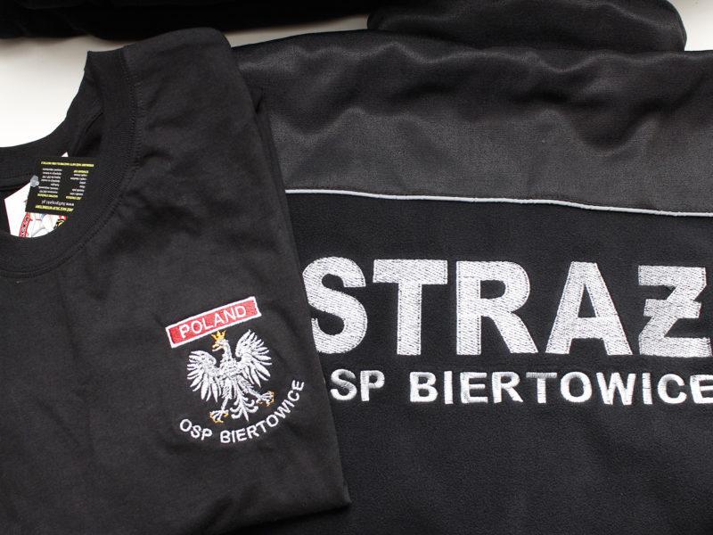 Koszulka Strażacka i Polary Strażackie Kapral dla OSP Biertowice