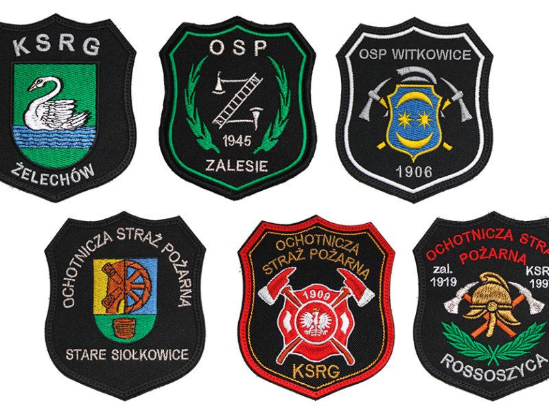 Indywidualne naszywki dla Ochotniczej Straży Pożarnej