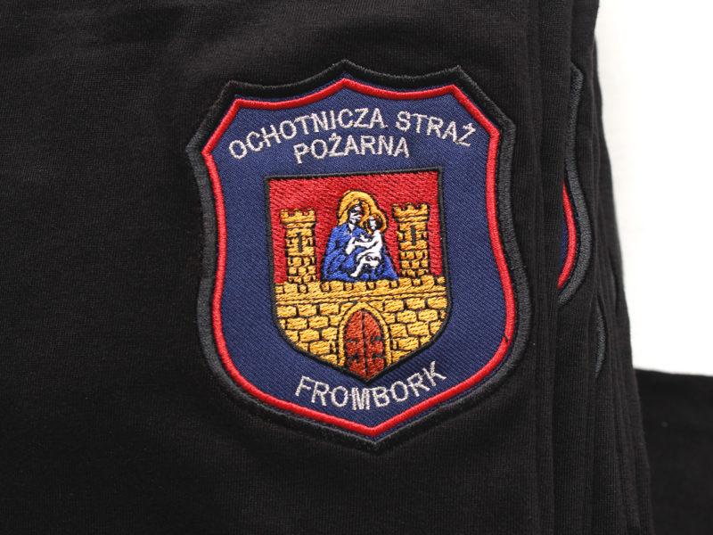 Koszulki Strażackie dla OSP Frombork