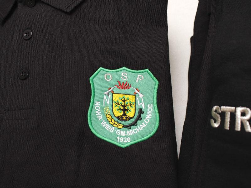 Indywidualne koszulki polo dla Osp Nowa Wieś