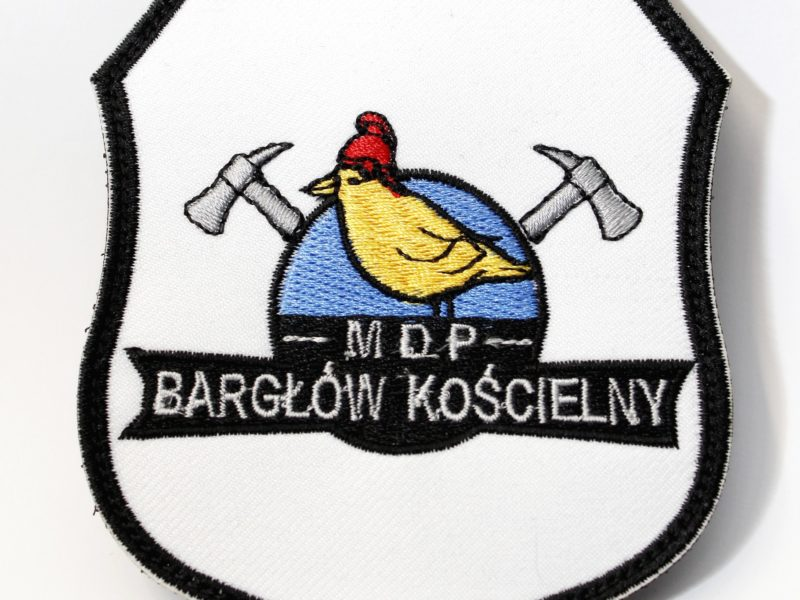 Naszywka Naramienna dla MDP Bargłów