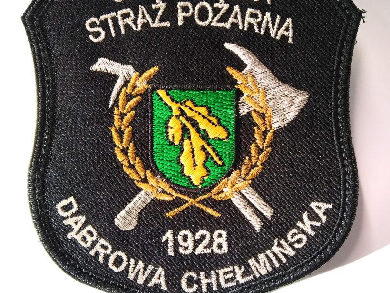 Indywidualna naszywka dla OSP Dąbrowa Chełmińska