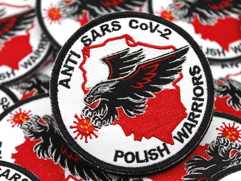 Naszywki ANTI SARS CoV-2 POLISH WARIORS