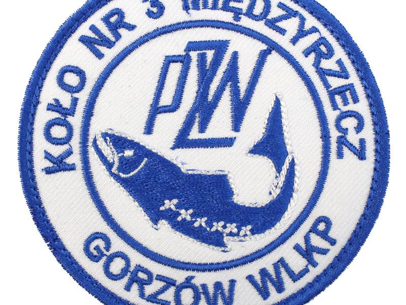 Naszywka PZW Polski Związek Wędkarski