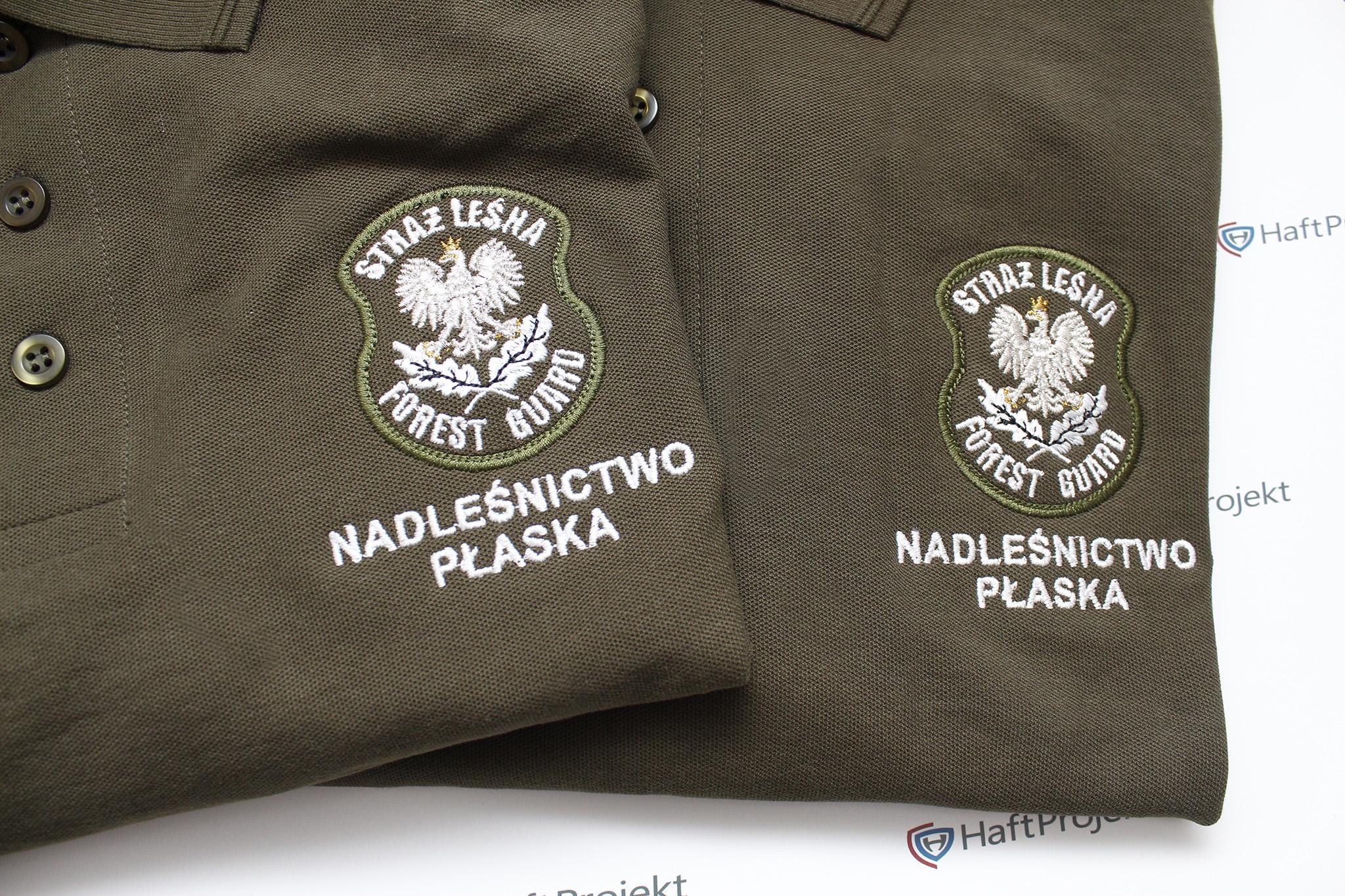 koszulka polo dla straży leśnej forest guard